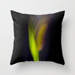 Abstract Bristle Grass-Fleur Blur Series Throw Pillow