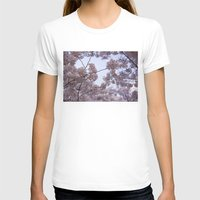 cherry blossoms T-shirts featuring Cherry Blossoms by Colesart