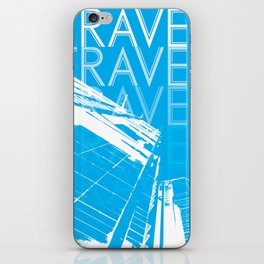 TRAVELING iPhone Skin