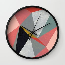 Canvas #3 Wall Clock