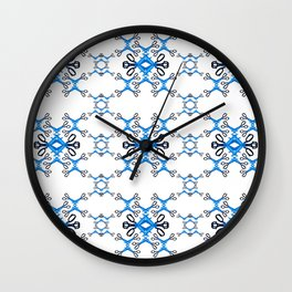 Shears on white Wall Clock