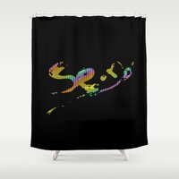 sexy Shower Curtains featuring Sexy by gypsykissphotography