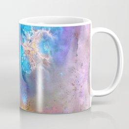 Abstract Rorschach Nebula Coffee Mug