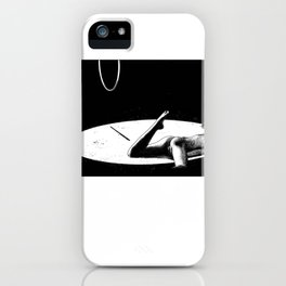 asc 927 - L'homme aux chaussures bicolores (In the limelight) iPhone Case