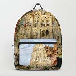 The Tower Of Babel Backpack