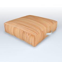 Cool elegant light brown bamboo wood print Outdoor Floor Cushion