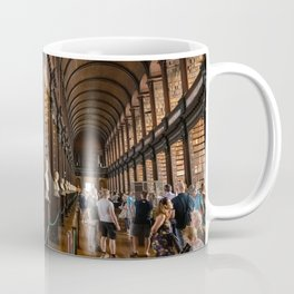 The Long Room of Trinity College Library in Dublin, Ireland Coffee Mug