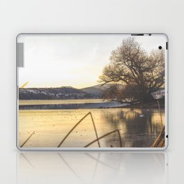 Lake Sunset Laptop & iPad Skin