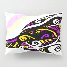 Tribal Bird Head Pillow Sham