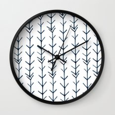 Twigs and branches Wall Clock