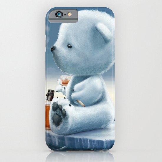 Derek The Depressed Bear iPhone & iPod Case