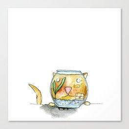 Cat Fish Canvas Print