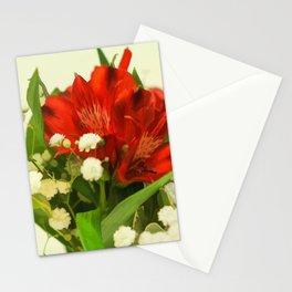Modified - Still life with flowers Stationery Cards