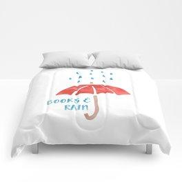 Books and Rain Comforters