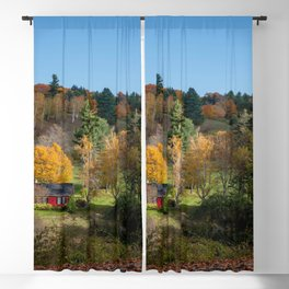 Sleepy Hollow Farm Vermont Panorama Blackout Curtain