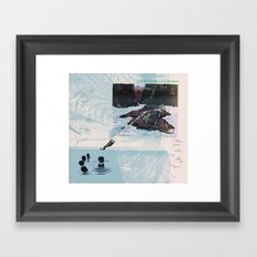 New Discoveries and Dangers Framed Art Print