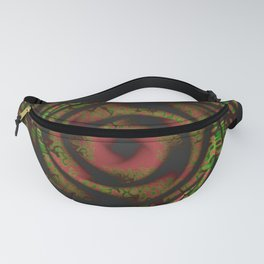 Blood Jungle Abstract Fanny Pack