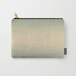 Gray-olive, gradient Carry-All Pouch