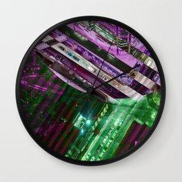City Stripe Wall Clock