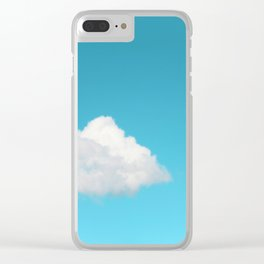 Happy Cloud Clear iPhone Case