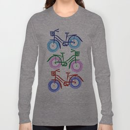 Multi Vintage Peloton Long Sleeve T-shirt