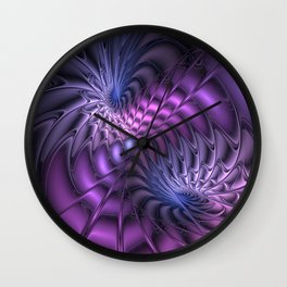 Fractal A Moment In Time Wall Clock