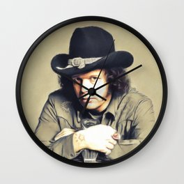 David Allan Coe, Music Legend Wall Clock