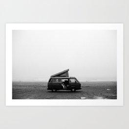Pacific City Fog Art Print