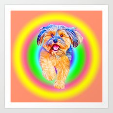 Puppy Power - Part II of Smile Art Print