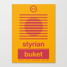 styrian buket single hop Canvas Print
