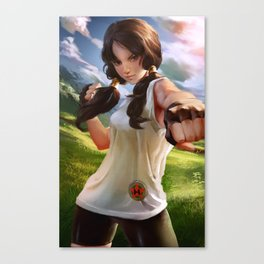 Videl Deagon ball z Canvas Print
