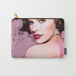 Milla Jovovich illustration Carry-All Pouch