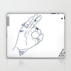 Make My Hands Famous - Part III Laptop & iPad Skin