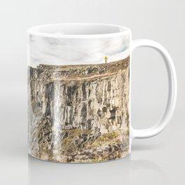 Running over the Rocks of Iceland Coffee Mug