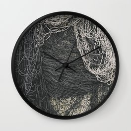 Net Pile I Wall Clock