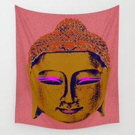 Brown Buddha Wall Tapestry
