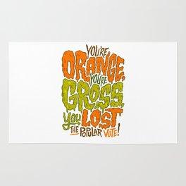 He's Orange, He's Gross, He Lost the Popular Vote Rug