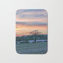 Sunset & Snow Bath Mat