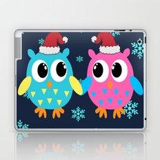 Christmas Owls Laptop & iPad Skin