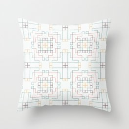 ufolk6 Throw Pillow