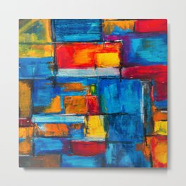 painting abstract Metal Print