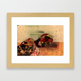 Tagged and Bagged Framed Art Print