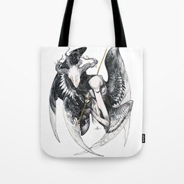 The Mourning Star Tote Bag