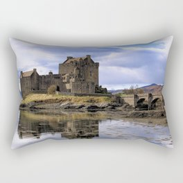 Eilean Donan Castle Scotland Rectangular Pillow
