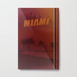 Heat Poster Metal Print