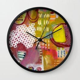 Jellyfish Garden Wall Clock