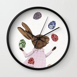 Hare-y Adventures Wall Clock