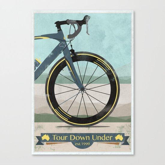 Tour Down Under Bike Race Canvas Print