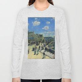 "Auguste Renoir ""Pont Neuf, Paris"" Long Sleeve T-shirt"