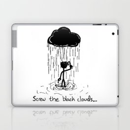 Turn that cloud, upside down! Laptop & iPad Skin